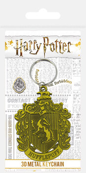 Harry Potter - Hufflepuff Crest Keyring