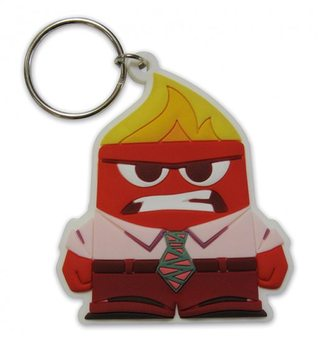 Keychain Inside Out - Anger