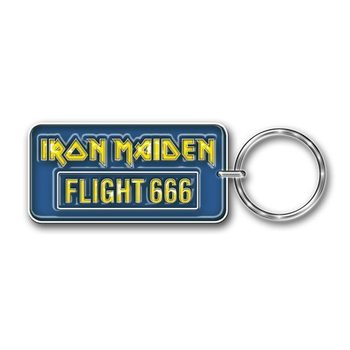 Iron Maiden - Flight 666 Keyring