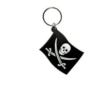 JOLLY ROGER - Flag Keyring