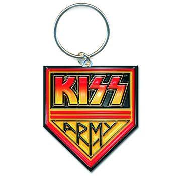Kiss - Army Pennant Keyring