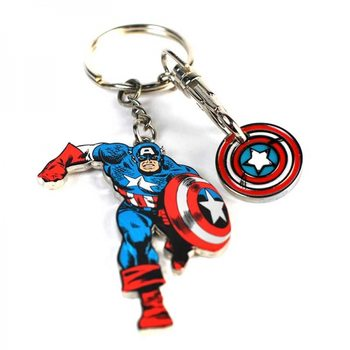 Marvel - Captain America Keyring