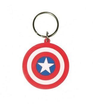 MARVEL - captain america shield Keyring