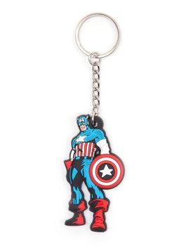 Marvel Comics - Captain America Rubber Keychain Keyring