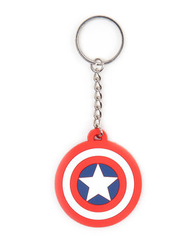 Marvel Comics - Captain America Shield Keyring