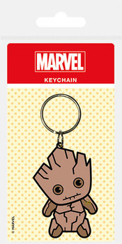 Marvel Kawaii - Groot Keyring