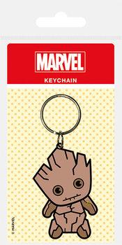 Marvel Kawaii - Groot Keyring