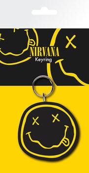 Nirvana - Smiley Keyring