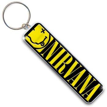 Keychain Nirvana - Smiley & Logo