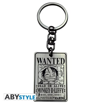 Keychain One Piece - Wanted Fluffy
