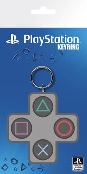 Playstation - Buttons Keyring