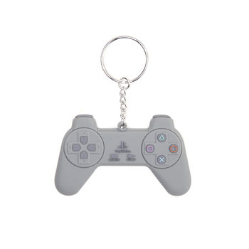 PlayStation - Grey Controller Keyring