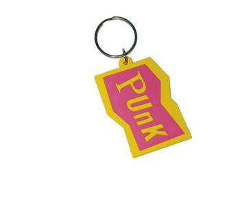 PUNK - Pink Keyring
