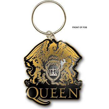 Queen - Gold Crest Keyring