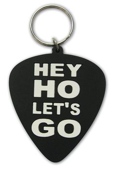 Ramones - Hey Ho, Let's Go (Plectrum) Keyring