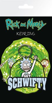 Rick And Morty - Get Schwifty Keyring