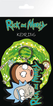 Rick & Morty Keyring
