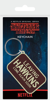 Stranger Things - Leaving Hawkins Keyring