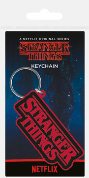 Stranger Things - Logo Keyring