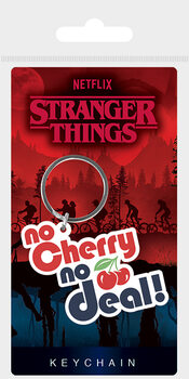 Keyring Stranger Things - No Cherry No Deal