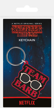 Stranger Things - Team Barb Keyring