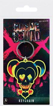 Suicide Squad - Harley Quinn Skull Keyring