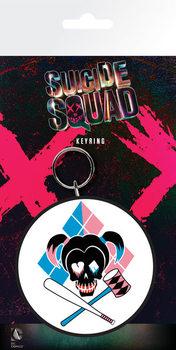 Suicide Squad - Harley Skull Keyring