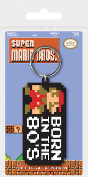 Super Mario Bros. - Born In The 80's Keyring
