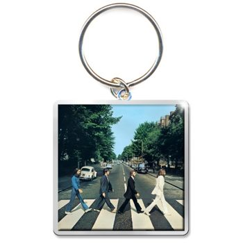 The Beatles - Abbey Road Album Keyring
