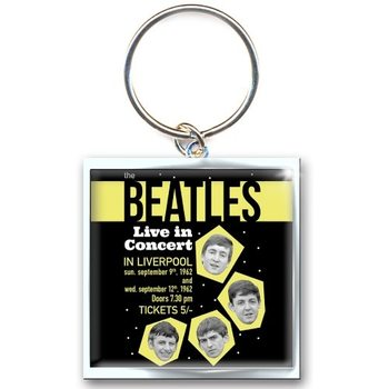 The Beatles - Live Concert Keyring