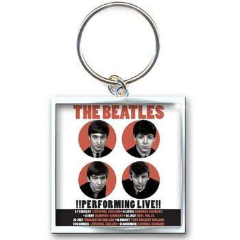 The Beatles - Perfoming Live Keyring