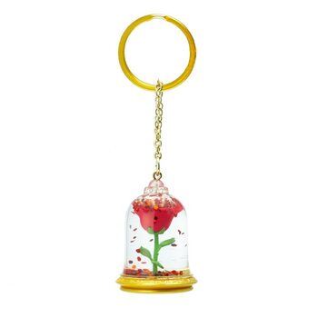 Keychain The Beauty and the Beast - Rose