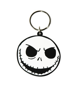 THE NIGHTMARE BEFORE CHRISTMAS - Jack Face Keyring