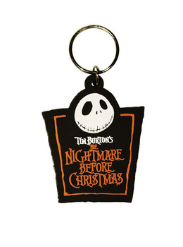 THE NIGHTMARE BEFORE CHRISTMAS - Jack Logo Keyring