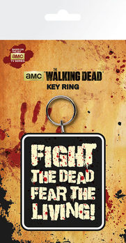 The Walking Dead - Fight the Dead Keyring