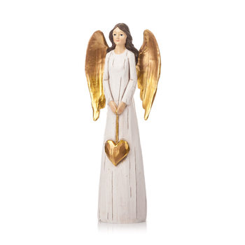 Angel Gold with Long Wings, 27 cm Kodinsisustus