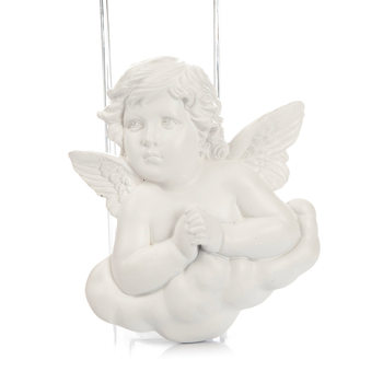 Angel on Cloud Praying, Hanging Decoration 9 cm Kodinsisustus