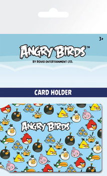Angry Birds - Pattern Korttikotelo