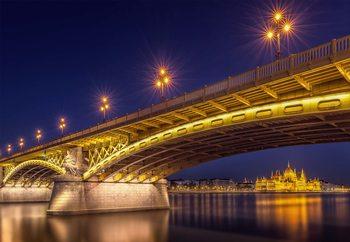 A View Of Budapest Valokuvatapetti