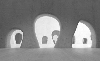 Abstract Modern Architecture Valokuvatapetti