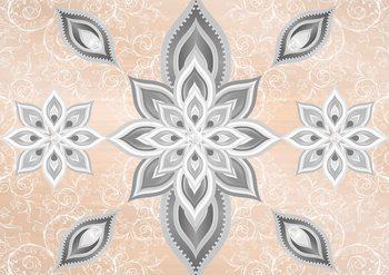 Abstract Pattern Silver Gold Valokuvatapetti