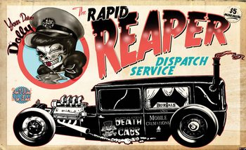 Alchemy Death Cab Cutie Car Skull Valokuvatapetti
