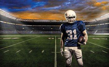 American Football Stadium Valokuvatapetti