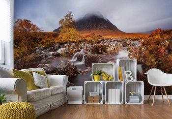 Autumn In The Glencoe Valokuvatapetti