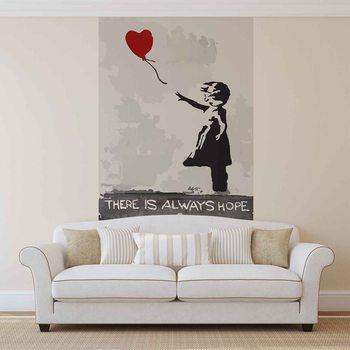 Kuvatapetti, TapettijulisteBanksy Street Art Balloon Heart Graffiti