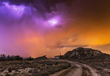 Bardenas Storm Valokuvatapetti