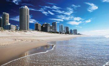 Beach Gold Coast Valokuvatapetti