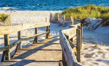 Beach Tropical View Valokuvatapetti