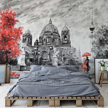 Berlin Art Painting Valokuvatapetti