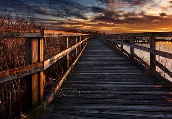 Boardwalk Valokuvatapetti
